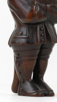 19th Century Nutcracker Made In France 3