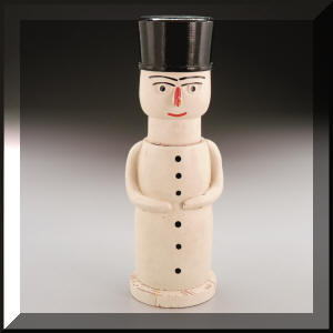 19th Century Snowman Nutcracker